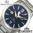 オリエント 腕時計 [ ORIENT時計 ]( ORIENT 腕時計 オリエント 時計 ) オリエントスター パワーリザーブ ( Orient Star Power Reserve ) メンズ/腕時計/ブルー/WZ0351EL [メタル ベルト/機械式/自動巻/メカニカル/正規品/シルバー][送料無料]