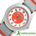 アンペルマン 腕時計 [ AMPELMANN時計 ]( AMPELMANN 腕時計 アンペルマン 時計 ) メンズ/レディース/ユニセックス/男女兼用/男の子/女の子/キッズ/子供用腕時計/レッド/AMA-2035-19 [NATO ベルト/正規品/かわいい/クオーツ/アナログ/グレー/シルバー/ホワイト/STOP]