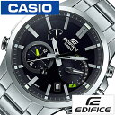 手錶 - 【正規品】 カシオ 腕時計 CASIO 時計 エディフィス EDIFICE メンズ ブラック EQB-700D-1AJF [ タフ ソーラー 防水 シルバー ]