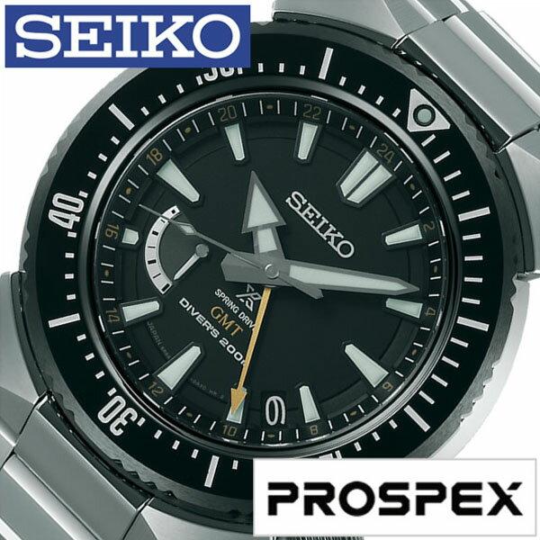 【5年延長保証】【正規品】 セイコー プロスペックス 腕時計 [ SEIKO PROSPEX 時計 ] メンズ ブラック SBDB017 [ メタル ベルト ダイバーズ スプリングドライブ シルバー ] [ 20代 30代 40代 50代 60代 ][ 父の日 ][ 誕生日 ][ ハイブリッドスタイルは各種プレゼント・ギフトに対応いたします! ]