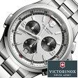 ビクトリノックス 腕時計 [ VICTORINOX時計 ]( VICTORINOX SWISSARMY 腕時計 ビクトリノックス スイスアーミー 時計 ) ナイトヴィジョン クロノ 腕時計/シルバー/VIC-241728 [正規品/ブランド/メタル ベルト/防水/ミリタリー]