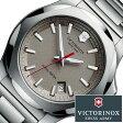 ビクトリノックス 腕時計 [ VICTORINOX時計 ]( VICTORINOX SWISSARMY 腕時計 ビクトリノックス スイスアーミー 時計 ) イノックス スティール 腕時計/グレー/VIC-241739 [正規品/ブランド/メタル ベルト/防水/ミリタリー/シルバー/INOX]