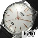 ヘンリーロンドン 腕時計 HENRYLONDON 時計 ヘンリー ロンドン 時計 HENRY LONDON 腕時計 ハイゲート HIGHGATE メンズ レディース ホワイト HL41-JS-0067 ブランド アンティーク シンプル 革 レザー ベルト ギフト ブラック シルバー 腕時計 レディース