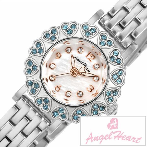 【5年延長保証】 エンジェルハート 腕時計 [ Angel Heart 時計 ] 桐谷美鈴 セレクト [ Kiritani Mirei Select ] レディース ホワイト MA23SS [ 正規品 ブランド 防水 かわいい 限定品 メタル ベルト プレゼント ] [ 20代 30代 40代 50代 60代 ][ 父の日 ][ 誕生日 ][ ハイブリッドスタイルは各種プレゼント・ギフトに対応いたします! ]してみましょう