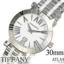 ティファニー 腕時計 Tiffany & Co. 時計 アトラス ( Atlas ) レディース ホワイト Z1300-11-11A20A00A [ 人気 高級 ブランド シルバー メタル スイス ]