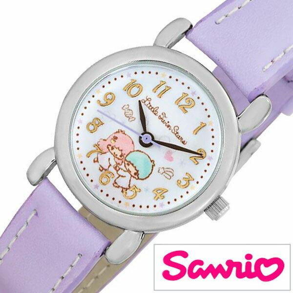 サンリオ 時計 Sanrio 腕時計 かわいい時計 サンリオ キャラクターズ Sanrio Characters キッズ 子供 ホワイト SR-V25-TS [ グッズ キッズウォッチ ジュニア 子供用 男の子 女の子 孫 姪 甥 兄弟 姉妹 プレゼント ギフト キャラクター 入学 入園 ]