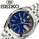 [当日出荷] セイコー 腕時計 SEIKO 時計 セイコーファイブ SEIKO5 メンズ ブルー SNK371K1 [ 人気 ブランド 旦那 夫 彼氏 逆輸入 限定 ..