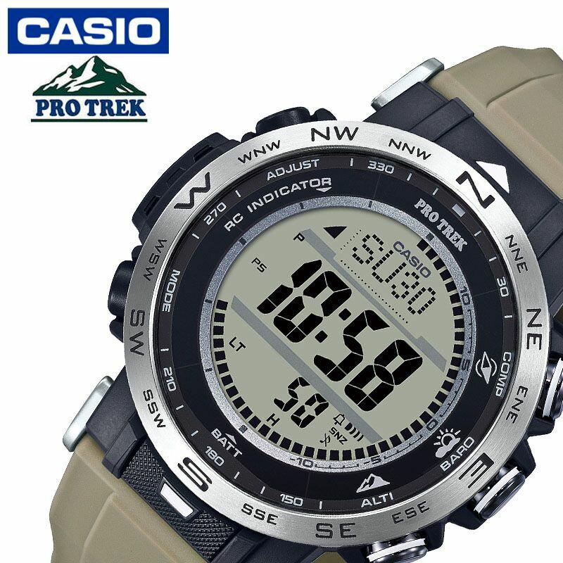 CASIO 腕時計 PROTREK プロトレック タフソーラー 電波時計 MULTIBAND 6 PRW-2500T-7