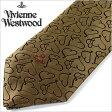 [送料無料]ヴィヴィアンネクタイ[VivienneWestwood] ヴィヴィアンウエストウッド ( Vivienne Westwood ヴィヴィアン ウエストウッド ブランド ネクタイ )ネクタイ/F232-1-9