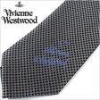 [送料無料]ヴィヴィアンネクタイ[VivienneWestwood] ヴィヴィアンウエストウッド ( Vivienne Westwood ヴィヴィアン ウエストウッド ブランド ネクタイ )ネクタイ/F236-6-9