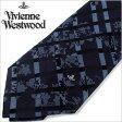 [送料無料]ヴィヴィアンネクタイ[VivienneWestwood] ヴィヴィアンウエストウッド ( Vivienne Westwood ヴィヴィアン ウエストウッド ブランド ネクタイ )ネクタイ/F653-5-9