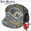レッドモンキーキャップ[REDMONKEY]( RED MONKEY キャップ レッド モンキー 帽子 )キャップ/ROLL-TIDE[ 帽子 キャップ 野球帽 アンパイアキャップ 短いツバ アンパイア 短ツバ ブランド 大きいサイズ メンズ レディース ]
