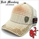 レッドモンキーキャップ[REDMONKEY]( RED MONKEY キャップ レッド モンキー 帽子 )キャップ/SWIRL[ 帽子 キャップ 野球帽 メッシュキャップ アメカジ デザイン ダメージ ブランド 大きいサイズ メンズ ]