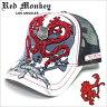 今月のピックアップアイテム!レッドモンキー デザインズ キャップ[RED MONKEY DESIGNS]ホワイトウォーロード(WHITE WARLORD)/メンズ/レディース/男女兼用WHITE-WARLORD[帽子][ハット]