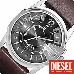 ディーゼル 腕時計 DIESEL 時計 メンズ レディース DZ1206 [ レア 希少品 革ベルト 革 レザー ]