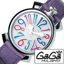 [あす楽]ガガミラノ 腕時計 GaGa MILANO 時計 マヌアーレ [ MANUALE ] メンズ レディース 5020.7 [ ブランド プレゼント ]