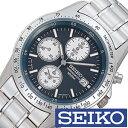 【5年延長保証】セイコー腕時計 [SEIKO時計/セイコー時計] ( SEIKO 腕時計 セイコー 時計 )クロノグラフ/メンズ時計/メンズ/SND365PC [プレゼント/ギフト/人気/定番/生活/防水] [ クリスマス ]