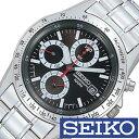 【5年延長保証】セイコー腕時計 [SEIKO時計/セイコー時計] ( SEIKO 腕時計 セイコー 時計 )クロノグラフ/メンズ時計/メンズ/SND371PC [プレゼント/ギフト/人気/定番/生活/防水] [ クリスマス ]