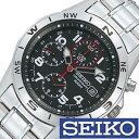 セイコー腕時計 [ SEIKO時計 セイコー時計 ] SEIKO 腕時計 セイコー 時計 クロノグラフ メンズ時計 メンズ SND375PC [ プレゼント ギフト 人気 定番 生活 防水 ]