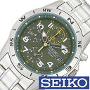 セイコー 腕時計 SEIKO 時計 クロノグラフ メンズ SND377P メンズ腕時計 腕時計メンズ サバゲ 米軍 特殊部隊 ミリタリー ブランド カジュアル 防水 夜光 ステン メタル カーキ 逆輸入 海外 CHGRWAT