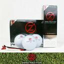 【プリント対応】■ゼロフリクション ZFディスタンス312 ゴルフボール1ダース【Zero Friction Distance 312 Golf Balls】