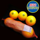 6 ■【 HTC original 】 mandarin orange golf balls (entering three pitches)