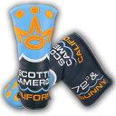 【Scotty Cameron】【HC845】スコッティキャメロン 2016 クラブキャメロンメンバー パターカバー(ヘッドカバー) /タイトリスト スコッティ キャメロン ヘッドカバー