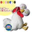 【HTCオリジナル】にわとり ボールケース(ボール2個用)【楽ギフ_包装】