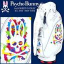 【※限定生産モデル】【先行予約/12月入荷予定】【Psycho Bunny/サイコバニー】 2017年モデル キャディバッグ PBMG7SC1 A/A FLAG...