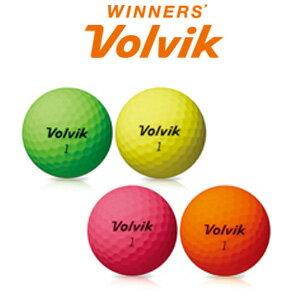 2018年 Volvik 世界ドラコン選手権大会【公式試合球【Volvik/ボルビック】 VIVIT XT ゴルフボール 1ダース 12球入り【HTCLDA】