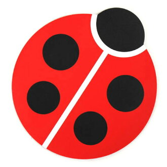 Mouse pad (Pat) lady bug high tide /HIGHTIDE