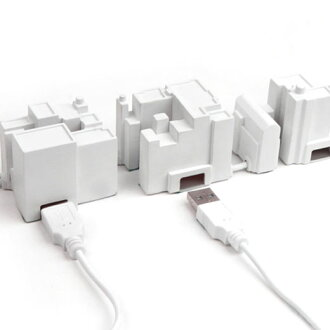 Kikkerland キッカーランド USB lonely city hub USB lonely city hub