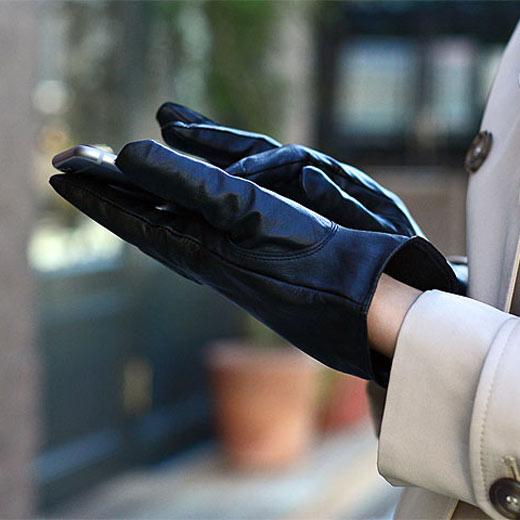 iTouch Gloves アイタッチグローブ(スマートフォン 手袋) オールレザー [HD2330]