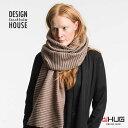 DESIGN HOUSE Stockholm デザインハウス ストックホルム Pleeceロングマフラー マッド バッグ・小物・ブランド雑貨 ストール マフラー 男女兼用