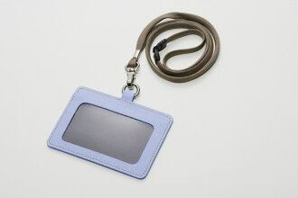 Name cardholder sky blue office supplies name card made by ITOYA Itoya COLOR CHART leather