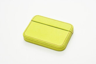 It is made by ITOYA Itoya COLOR CHART box type card case pair green leather (leather)