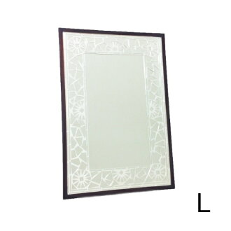 SALE HUG original Mosaic Mirror silver L mirror wall-angle type