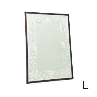 SALE HUG original Mosaic Mirror silver L mirror wall-angle type