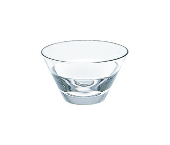Sugahara glass sugahara duo Bowl clear Japanese food with sake and it was glass