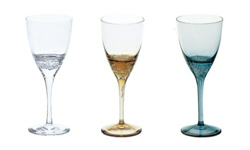 From sugahara sugahara glass blowing bubbles wine Western with wine glasses and other glass