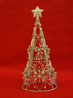 HUG select Christmas tree elegance corn tree silver 28cm3321 Christmas tree