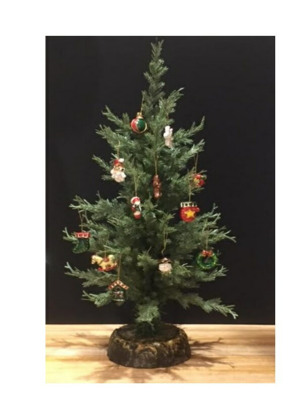 HUGセレクトクリスマスオーナメントサイプレステーブルツリー48cm7002おもちゃ・ホビー・ゲーム