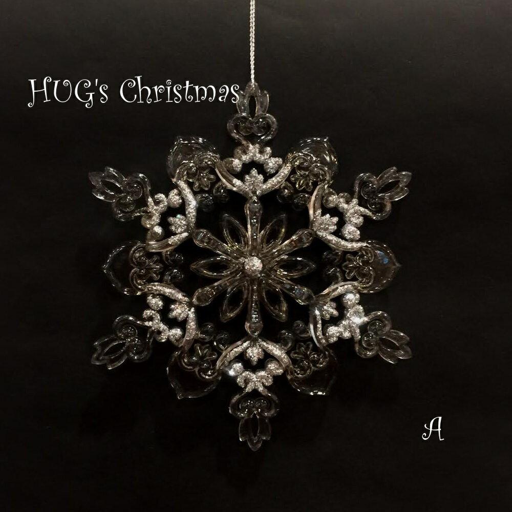 HUGセレクトクリスマスオーナメントスノーフレークオーナメントA6149おもちゃ・ホビー・ゲームパー