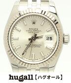 ロレックス オイスターパーペチュアル デイトジャスト 179174 M番 自動巻き 腕時計 ROLEX レディース 【中古】
