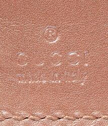 グッチマイクログッチシマ6穴手帳カバー115240GUCCIレディース【中古】