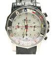 コルム アドミラルズカップ クロノメーター 自動巻き ホワイト文字盤 腕時計 CORUM メンズ 【中古】