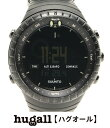 スント CORE クォーツ デジタル 腕時計 ブラック SUUNTO メンズ 【中古】