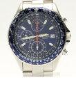 セイコー 7T92-0CF0 クロノグラフ クォーツ 腕時計 SEIKO メンズ 【中古】