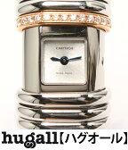 カルティエ デクラレーション 2611 クォーツ シルバー文字盤 腕時計 Cartier レディース 【中古】[10P29Aug16]