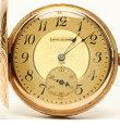 ウォルサム 14K スモールセコンド 手巻き ゴールド文字盤 懐中時計 WALTHAM ユニセックス 【中古】